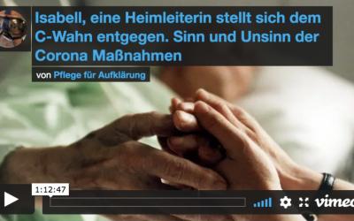 Video Pflege für Aufklärung